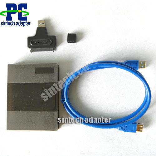"USB 3.0 to 2.5"" SATA HDD SSD Adapter converter + extension cable"
