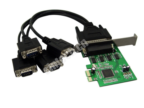 PCI-E express 1X to 4 serial ports card adapter MCS9904