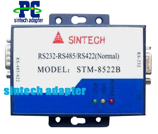 RS232 to RS422/485 converter with power supply