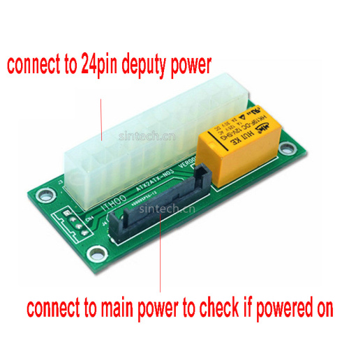 main deputy dual power controller adapter for BITCOIN MINER - Click Image to Close
