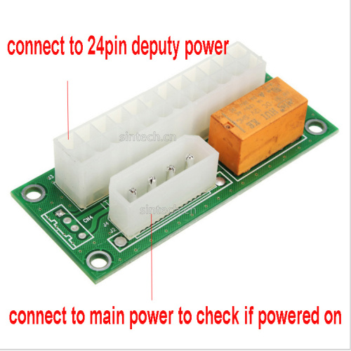 main deputy dual power controller adapter for BITCOIN MINER