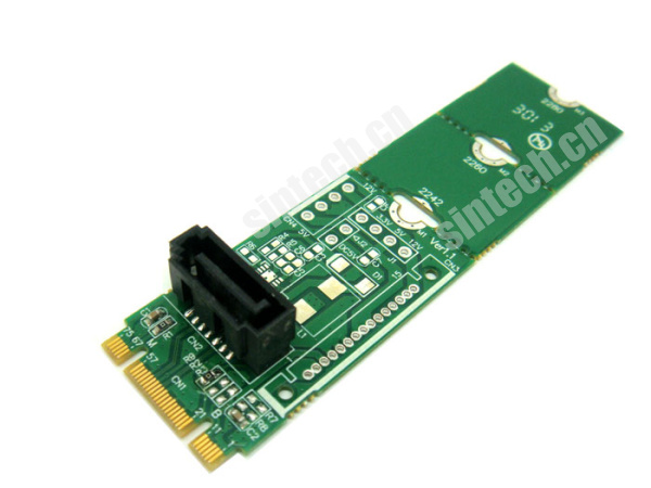 SATA SSD HDD to M.2 NGFF Socket adapter converter card
