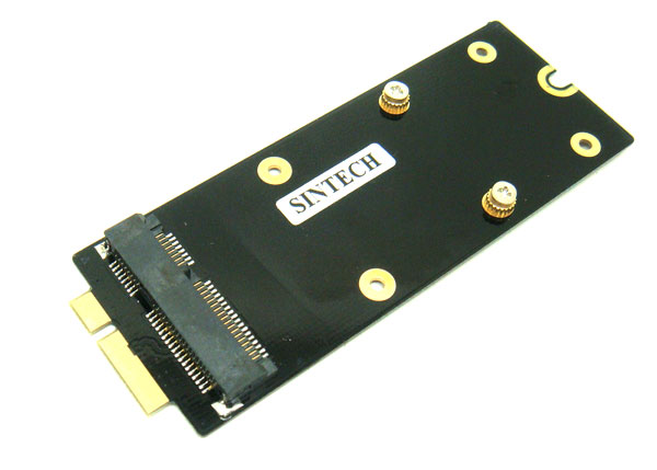 Mini SATA mSATA SSD to MACBOOK PRO Retina A1398 A1425 adapter