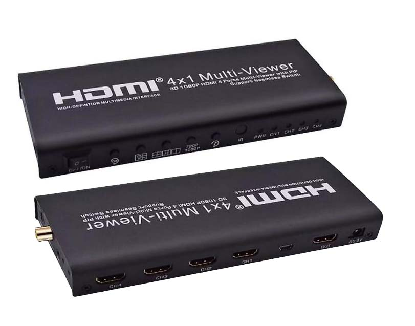 HDMI 4x1 Quad Multi-viewer Video converter