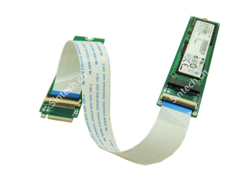 NGFF M.2 PCIe M-Key extension card with 20CM cable