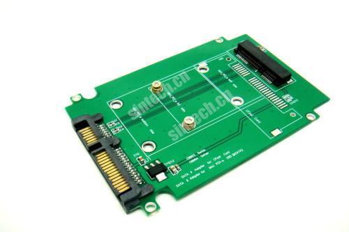 SATA adapter for Mini PCI-e SATA SSD from Asus EEE PC 900/900A/9