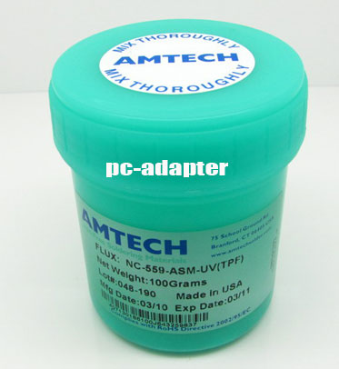 100g AMTECH NC-559-ASM-UV flux paste lead free