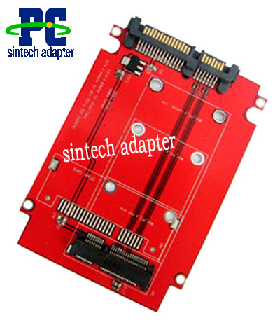 2.5inch SATA to Mini PCI-e Adapter for intel msata SSD pin-out