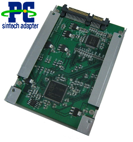 4ports SD/SDHC/MICRO SD card to SATA raid adapter with case