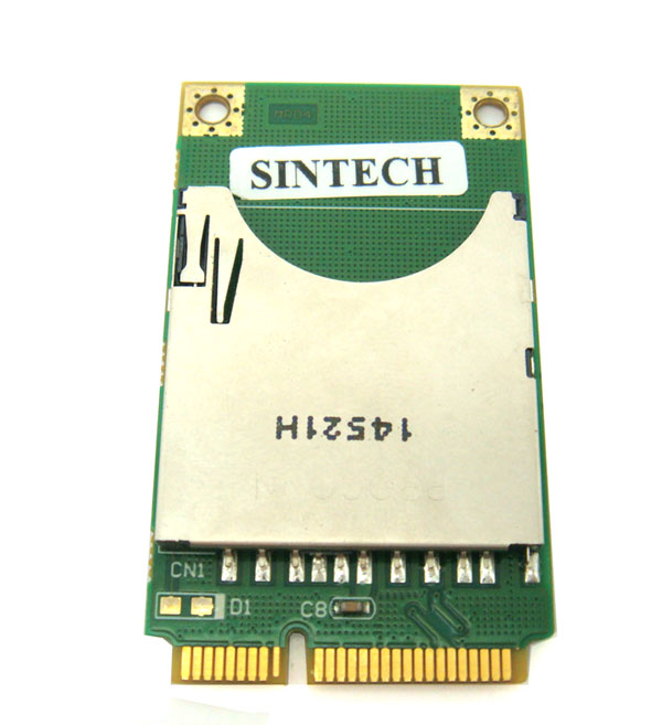SD/SDHC Card Reader for Laptop Mini PCI Express