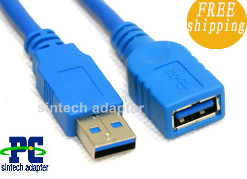 3 FT NEW USB 3.0 Extension Cable A to A - M/F (1 M)