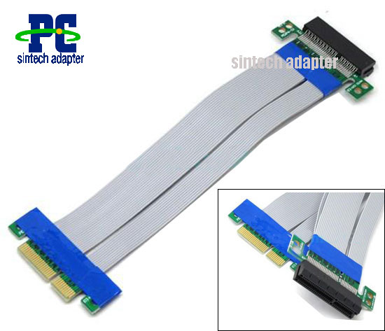 Flexible PCI Express x4 Riser Card