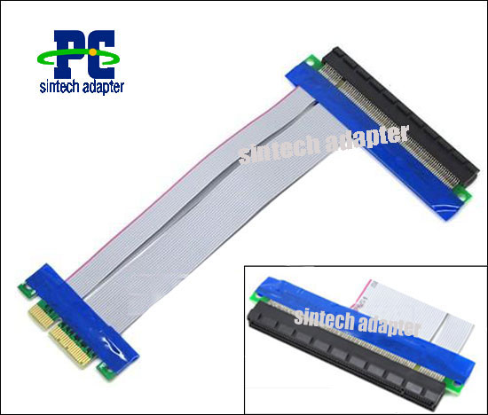 Flexible PCI Express X4 to X16 Riser Card