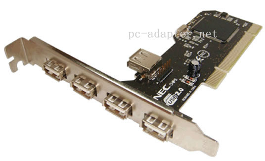 PCI to 5USB card adapter