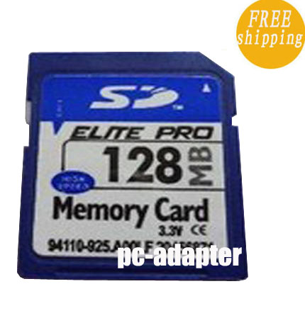 128MB Secure Digital SD Memory Card Genuine Chips