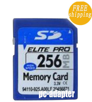 256MB Secure Digital SD Memory Card Genuine Chips