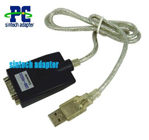 USB 2.0 To RS-232 Serial Converter