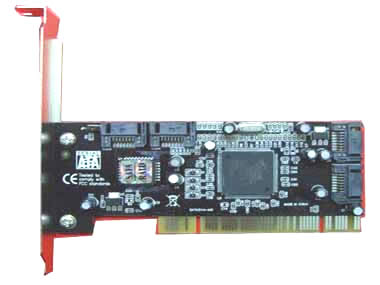 PCI to 4 ports SATA raid card adapter SIL3114