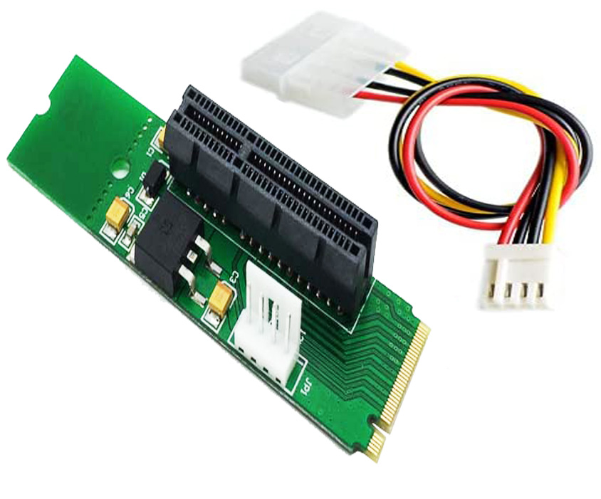 PCI-e 4x SSD As NGFF M.2 M Key PCIe SSD adapter