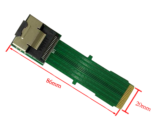Mini SAS 36Pin SFF-8087 extender card