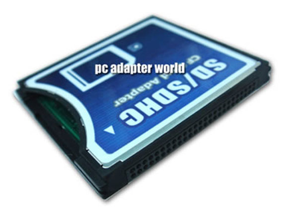 sd SDHC to CF card adapter