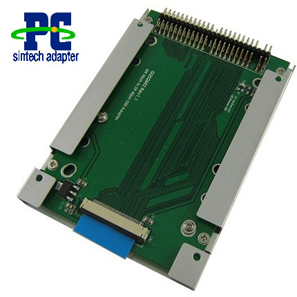 1.8 40pin ZIF SSD to 2.5 44pin IDE adapter with case