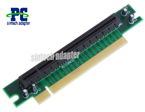 PCI-E express 16X riser card 1U (Left-side insertion)