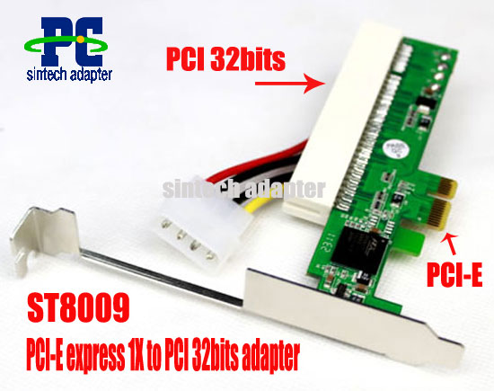 PCI-E 1X TO PCI Riser Card