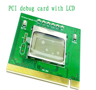 PC PCI diagnostic post test debug post card for desktop