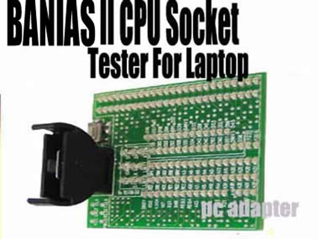 Intel Banias II CPU socket tester for laptop