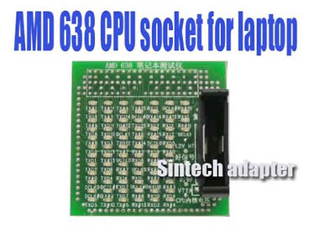 AMD 638 CPU socket tester for laptop