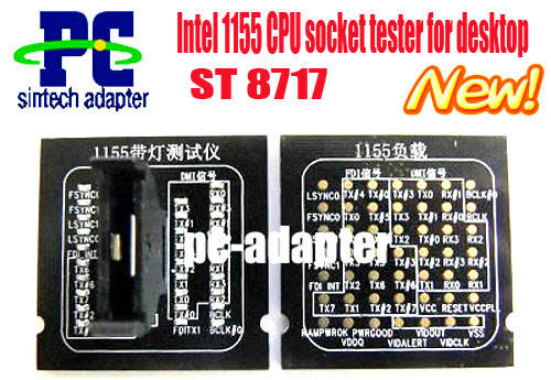 1155 CPU Socket pc tester analyzer card for motherboard