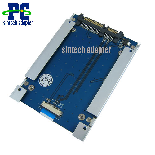 1.8 LIF macbook air Toshiba Samsung SSD to SATA adapter with cas