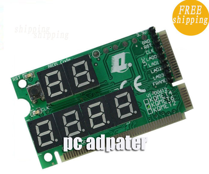laptop motherboard Mini PCI-E PC diagnostic tester card