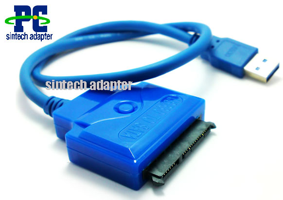"USB3.0 to 2.5"" SATA 22Pin HDD Adapter Cable"