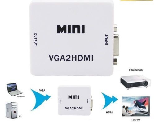 VGA To HDMI 1080P HDTV Video Converter