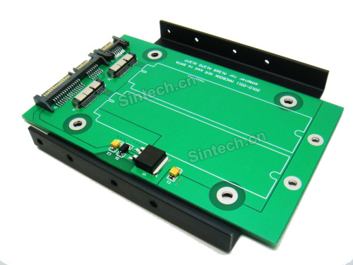 Dual MACBOOK AIR SSD to SATA Adapter