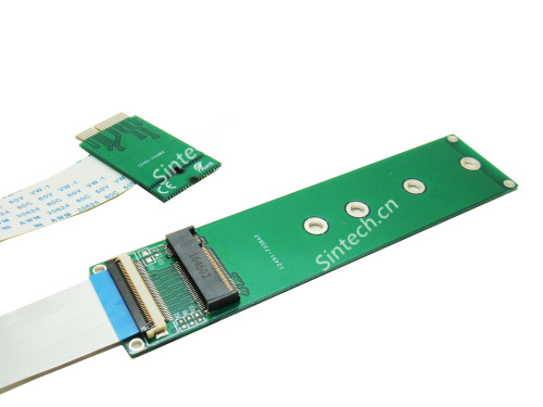 M.2 (NGFF) nVME SSD to Macbook Wifi card for Samsung 960 - Click Image to Close