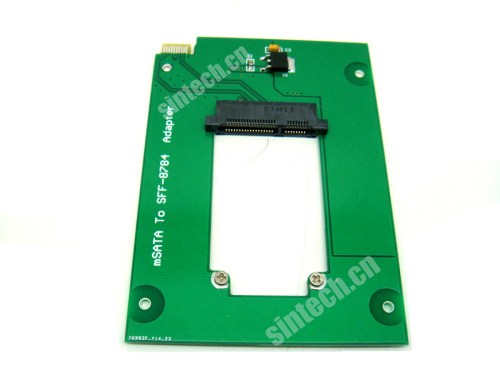 mSATA SSD as WD Blue UltraSlim SATA3 HDD WD5000MPCK SFF-8784