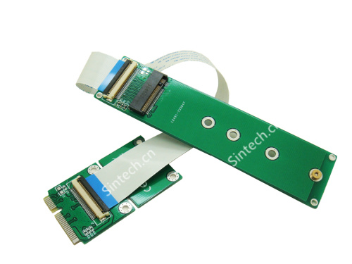 M.2 (NGFF) nVME SSD to Mini PCIe Adapter for Samsung 950 960