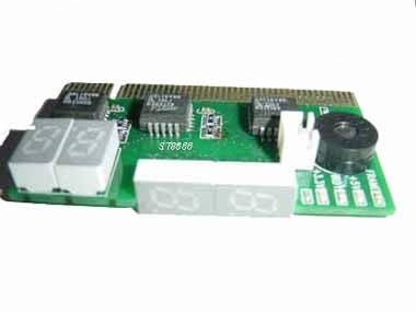 Two observed direction PCI 2 bit pc motherboard diagnostic