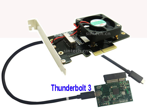 Thunderbolt 3 External PCIe 4X card for 2013-2015 macbook SSD