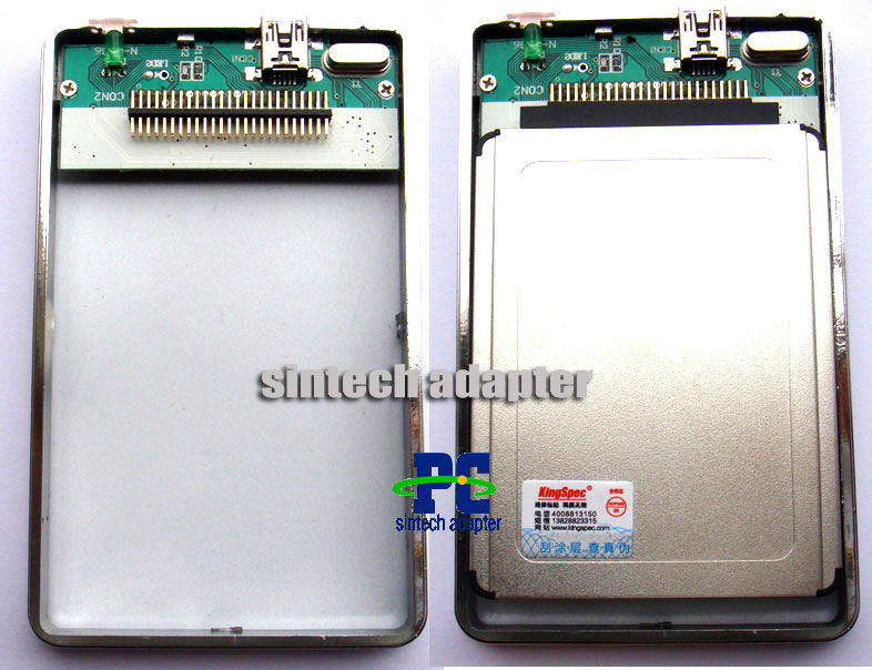 Toshiba external 1.8 inch CF 50pin SSD HDD case