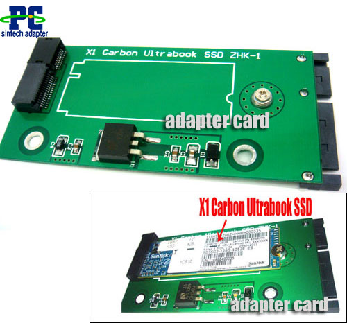 Lenovo X1 Carbon Ultrabook SSD to SATA adapter 4 sandisk SD5SG2