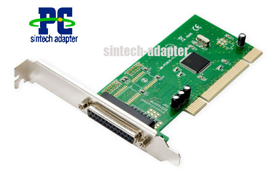 1 DB-25 Parallel Printer Port (LPT1) PCI to 1 parallel adapter