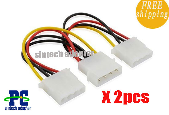 SATA 4pin Y-Power cable