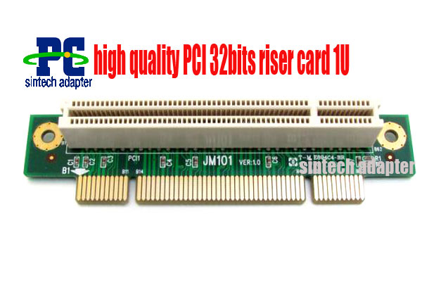 high quality PCI riser card adapter 32bits 1U