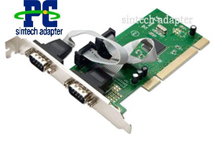 PCI to 2 serial adapter